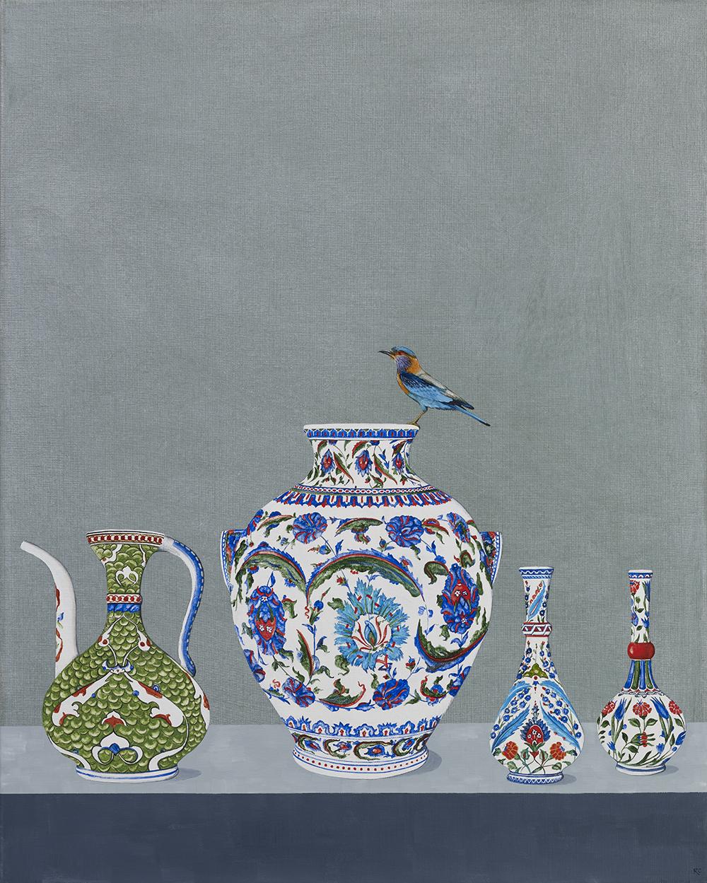 Turkish Delight, Oil on Linen 76 x 61 cm